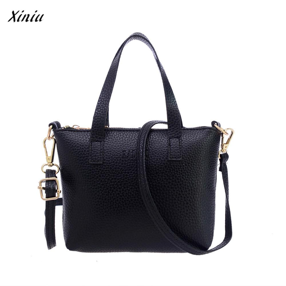 xiniu Women Fashion Shoulder Bag Tote Ladies Purse bags for women 2017 bolsa feminina Backpacks Womens mujer sac a dos femme
