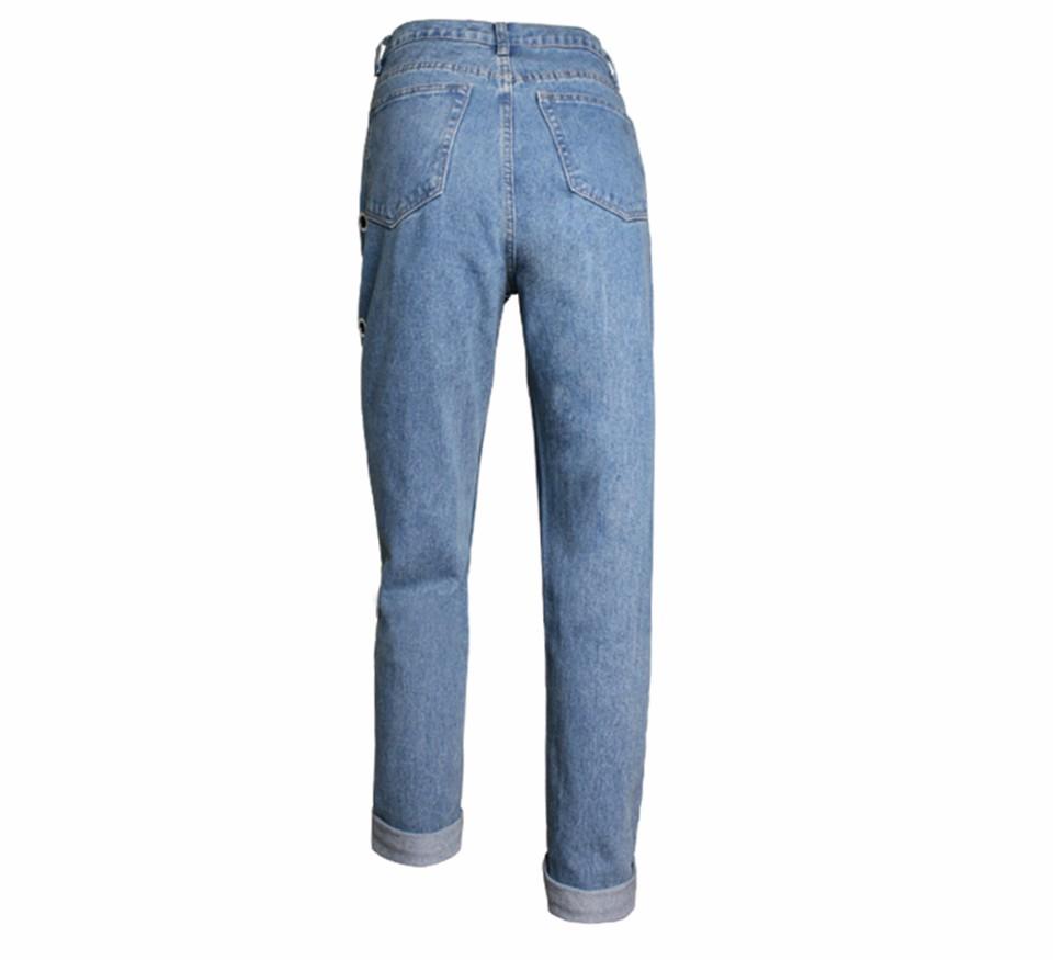 4eb17ea2df65a Boyfriend Baggy Jeans Women Pants Denim Vintage Straight Jeans For ...