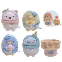 Сан-Икс сумикко гураши японские игрушки Аниме мороженое модель уголок био ручной мягкий плюшевый животный игрушка для девочек Подарки