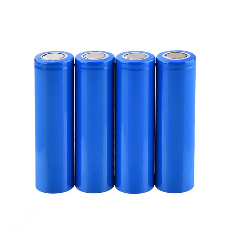 4PCS JNKXIXI 18650 1200mAh Rechargeable Battery li ion Batteries Bateria Li-ion Lithium for Flashlight