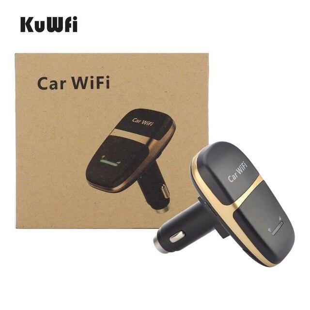 Caricabatteria da auto sbloccato 150Mbps LTE 4G Router Wireless LTE Wifi Modem Hotspot per auto con Slot per schede Sim supporto 10 utenti per condividere Wifi