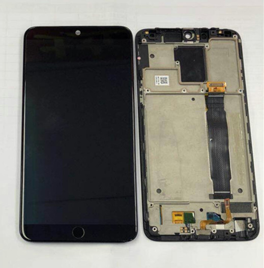 D'origine M & Sen Pour 5.46 meizu 15 MX 15 Snapdragon 660 Super Amoled écran LCD display + tactile panneau digitizer avec cadre