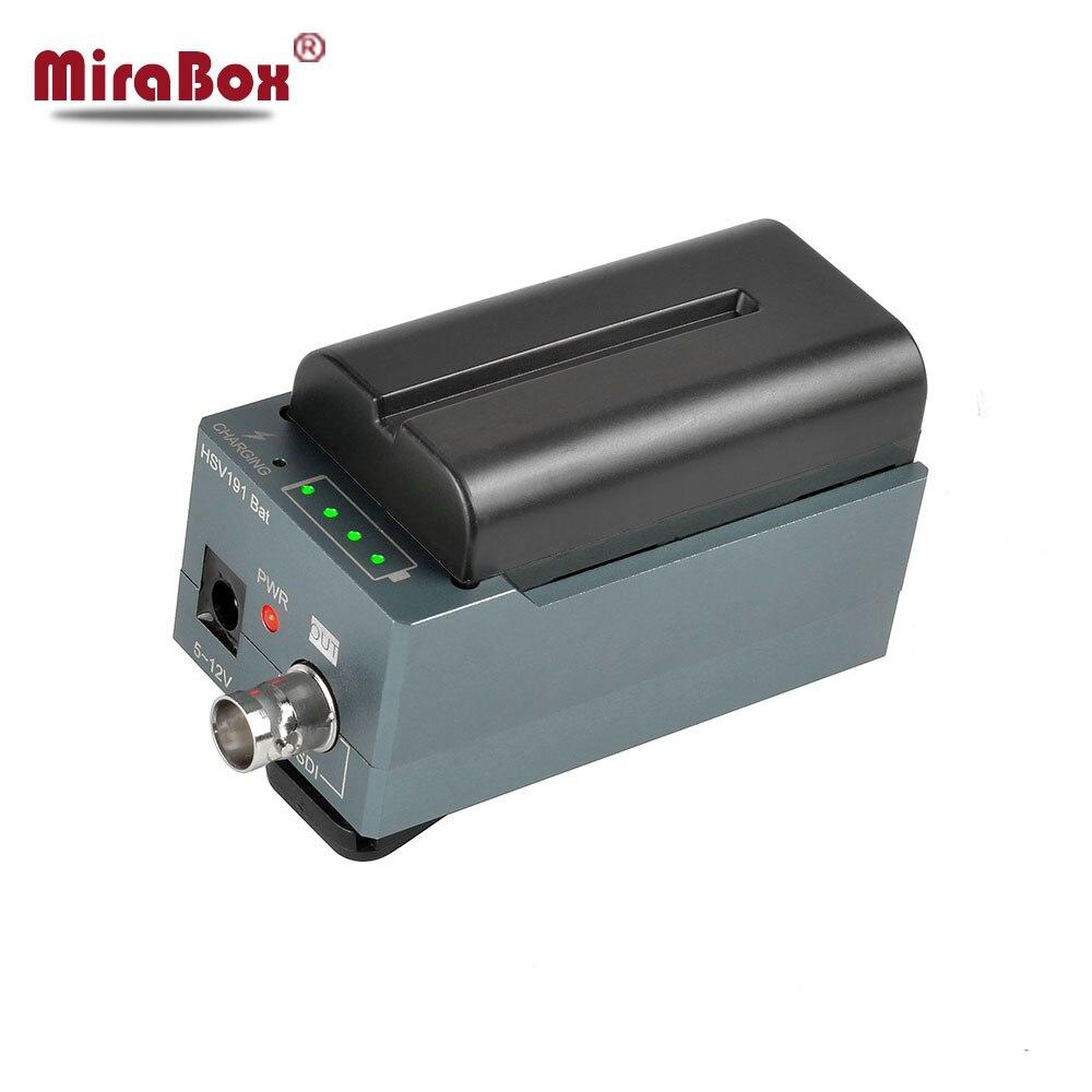 MiraBox Conception Batterie Convertisseur HDMI VERS SDI Adaptateur SD/HD-SDI/3G-SDI Multimédia 1080 p HD Vidéo Convertisseur Portable mini Taille