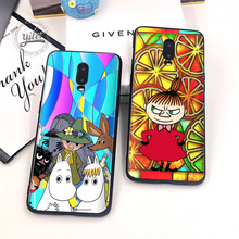 Cute Muming For Case Oneplus 6T 7 Cover Black Soft Silicone for Funda Phone Cases 1+6T Capa