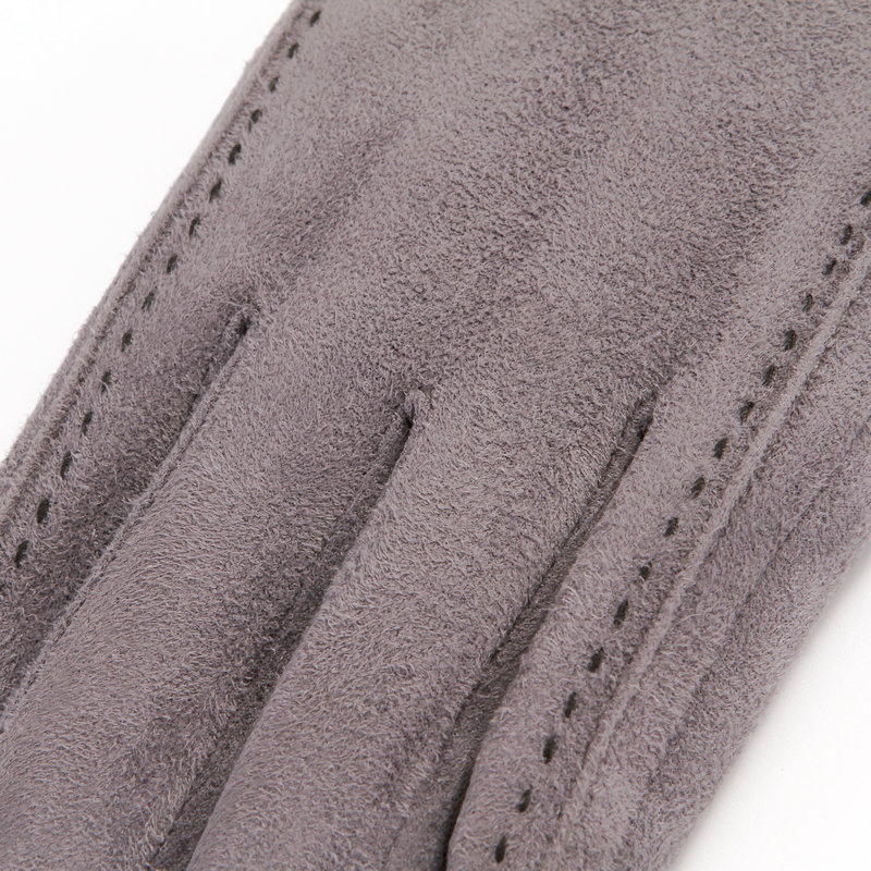 Suede Gloves Men 39 S Winter Warm Plus Velvet Thick Cotton Driving Full Finger Gloves Touch Screen TBWM01 in Men 39 s Gloves from Apparel Accessories