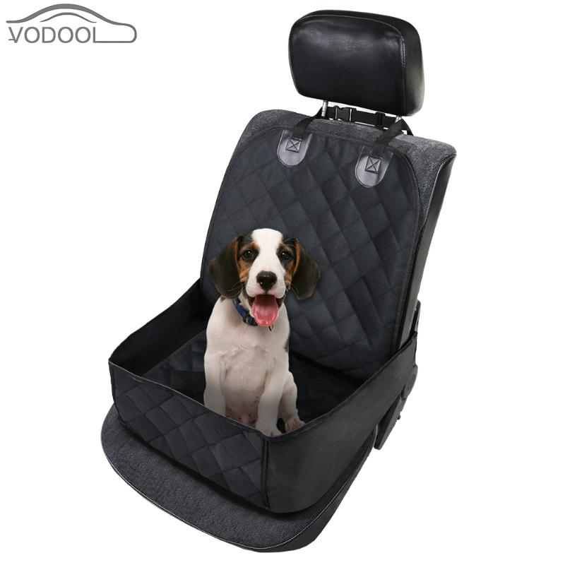 Waterproof Car Seat Cover Oxford Cloth Cotton Dog Pet Front Chair Cushion Mat Puppy Cat Carrying Bag Auto Travel Accessories ...