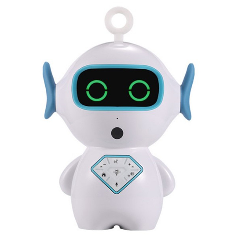 Children's Certain Christmas Gift AI Intelligent Pet Intelligent Voice Control Cartoon Robot Story Machine Wifi Dialogue Toys(China)