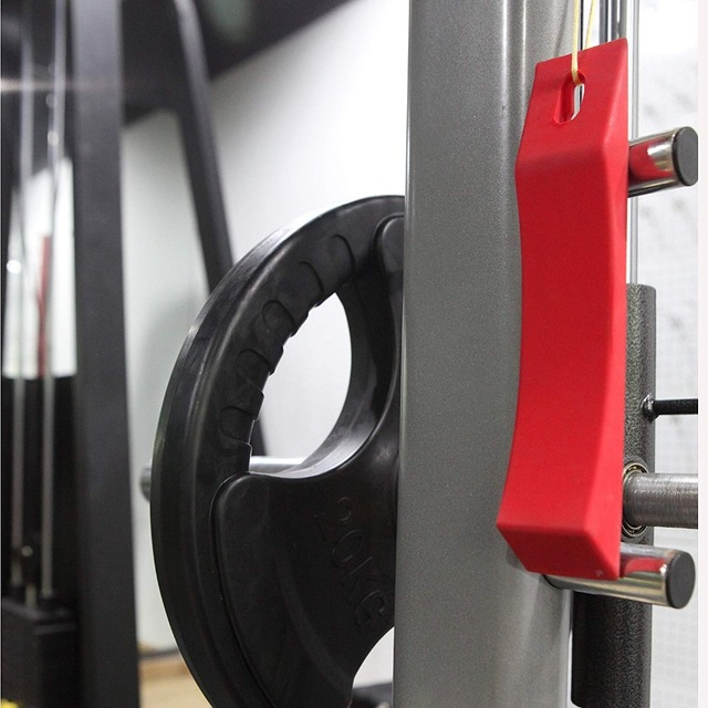 Red Color Barbell Deadlift  Wedge Jack