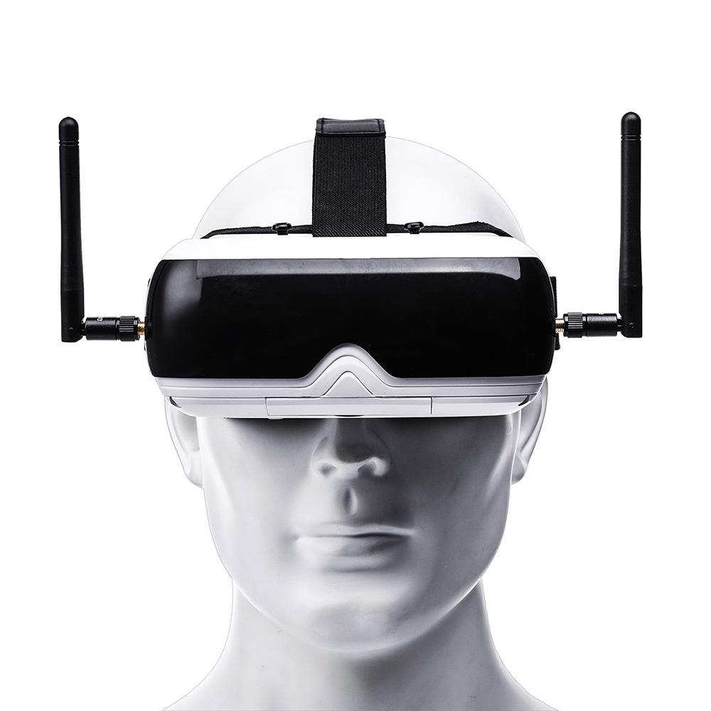 TOPSKY Prime1S 5.8G 48CH 2.4 pouces FPV lunettes diversité récepteur batterie intégrée DVR pour Drone RC