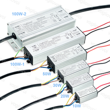 Vogliovoi LED Driver 10W 20W 30W 50W 100W Full Power Waterproof For Floodlights High Bay Lamp AC110V AC220V Aluminum