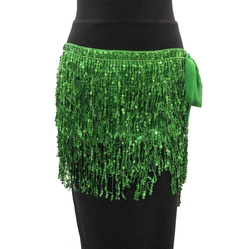 MUXU Золотая юбка с блестками женская юбка jupe faldas jupe femme falda уличная мини etek бахрома сексуальная летняя мода faldas cortas - Цвет: green