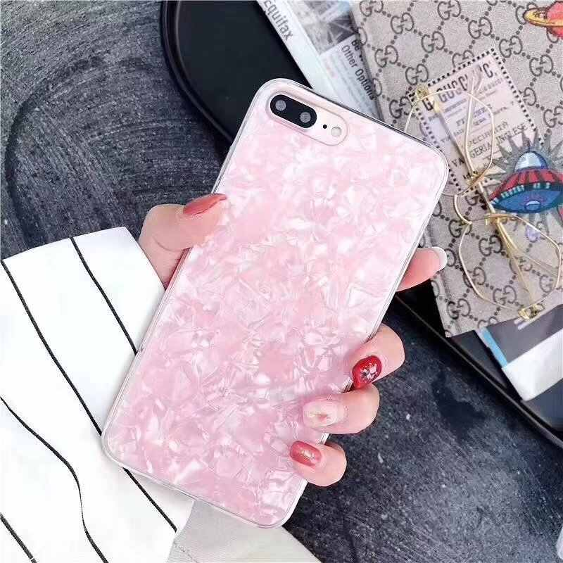 Telefoon Geval Voor iPhone7 8 Plus Case Soft TPU Droom Shell Cases Voor iPhone X 8 7 6 6 s SE 5 5 s Coque Siliconen Marmer Cover Funda