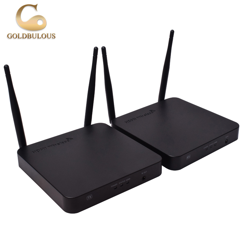 Wholesale high quality wireless audio and video transmitter and receiver mini box Wifi