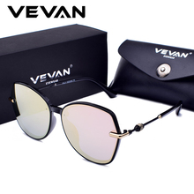 VEVAN 2018 Fashion Square Sunglasses Women Polarized Brand Designer Sunglass UV400 Mirror Sun Glasses Luxury oculos With Box