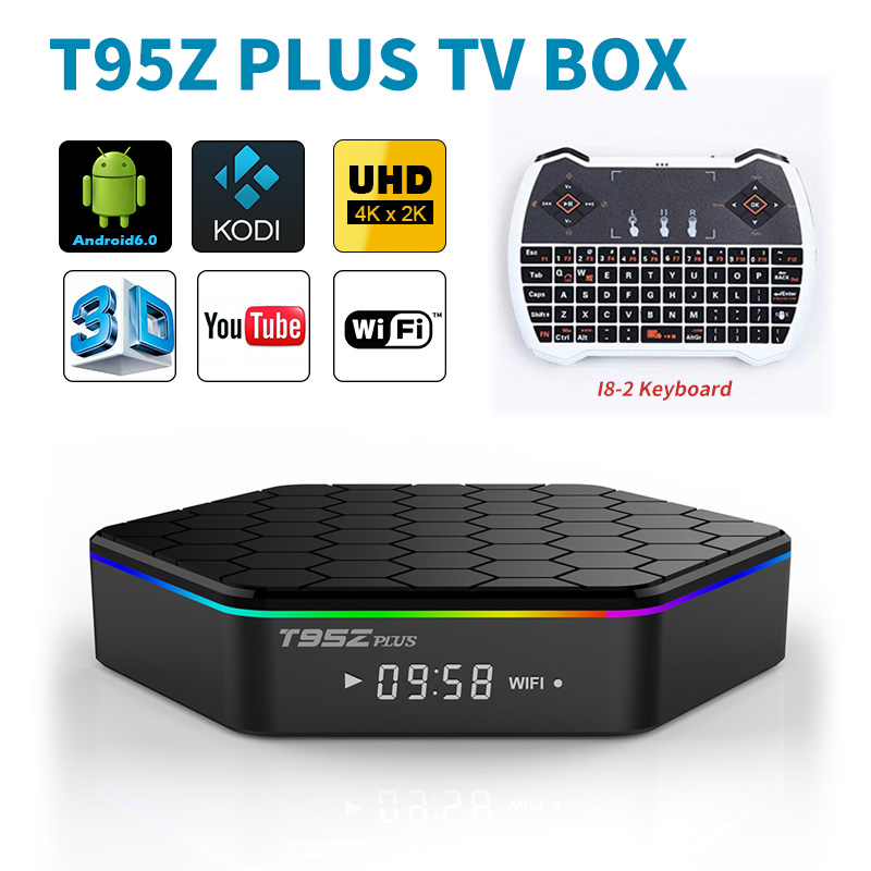 Octa Core Android Arab IPTV BOX T95ZPLUS Europe Arabic IPTV Channels S912 2GB/16GB 3GB/32GB TV Box KODI WIFI H265 Media Player