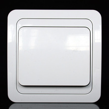 The European standard high quality 1-Gang single controlled wall switch has CE authentication