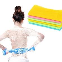 Nylon Mesh Bath Shower Body Washing Clean Exfoliate Puff Scrubbing Towel Cloth