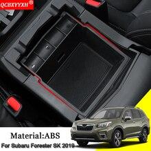 Автомобильный-Стайлинг ABS автомобильный подлокотник коробка для хранения автомобиля подлокотник коробка для хранения чехлы авто украшения аксессуары для Subaru Forester SK 2019