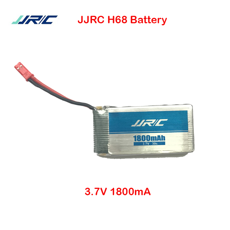 JJRC H68 Original Rc Drone 3 7V 1800mah Battery For JJRC H68 Parts Helicopter Accessories General