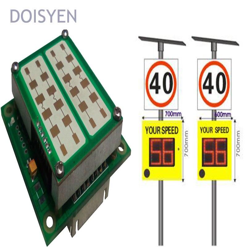 Дорожного Движения Предупреждающие Знаки светоотражающие ленты 24 ГГц радар-детектор автомобиль