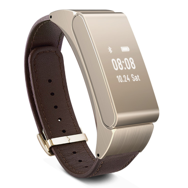 Smart Bracelet Watch Talk and M8 Wireless Bluetooth Headphone Headset Talk Band Pedometer Fitness Monitor Wristband