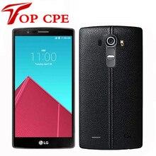 Разблокированный мобильный телефон LG G4 4G LTE H818 H810 H811 H815 Hexa Core 5,5 дюймов 16,0 Мп камера 3 ГБ 32 ГБ Android смартфон