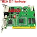 TS802D СВЕТОДИОДНЫЙ отправки карты полноцветный светодиодный дисплей отправки карты TS802 отправки карты TS/SD801/802