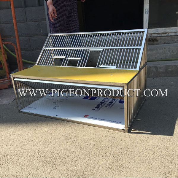2 pc livraison gratuite 60 cm cage à sauter pliable cage en métal cage volante