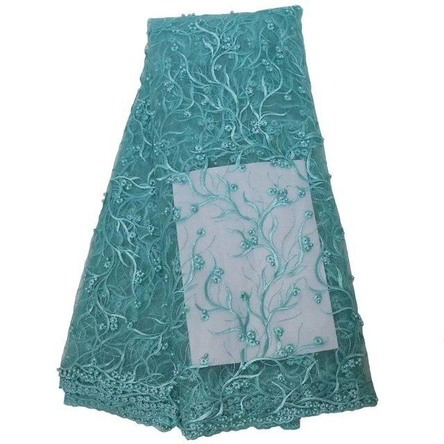높은 품질의 아프리카 코드 레이스 원단 새로운 가을 도착 나이지리아 guipure 코드 레이스 원단 화이트 2017 웨딩 드레스