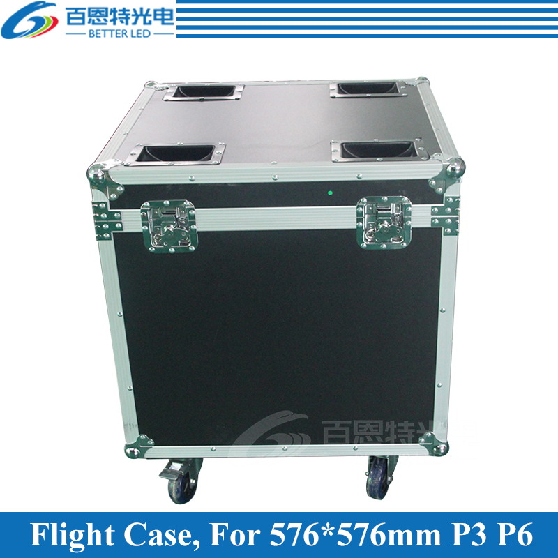 P3 P6 Die casting aluminum Rental LED display cabinet Flight Case, 1 Flight case Pack 6 pcs 576mmX576mm CabinetP3 P6 Die casting aluminum Rental LED display cabinet Flight Case, 1 Flight case Pack 6 pcs 576mmX576mm Cabinet