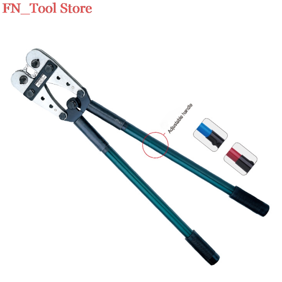 FASEN HX-245B 70-240mm2 high quality crimping tools for wire end sleeves multi-function crimping pliers tube crimping pliers