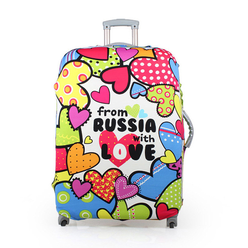 Travel Luggage Suitcase Protective Cover, Stretch Dustproof Protective Cover,Suitcase Cover Apply To 18-30inch Case 114