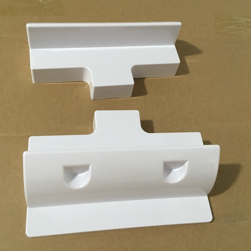 2pcs/set Solar Panel Mounting Bracket Stand White Corner Mounting Bracket Kit For Mother Home Caravan RV Boat