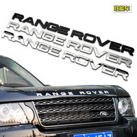 High Quality Car Styling Front Or Back RANGE ROVER Sticker Letters Emblem Logo For Range Rover