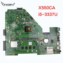 Orginal for ASUS X550CA Laptop motherboard R510CA X550CC REV2.0 onboard I5-3337 CPU mainboard 100% tested