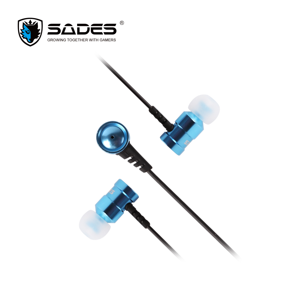 SADES Wings Headphones 3.5mm Phone call and Music Earphone Portable In-Ear Gaming Headset for PC / XBOX ONE / PS4