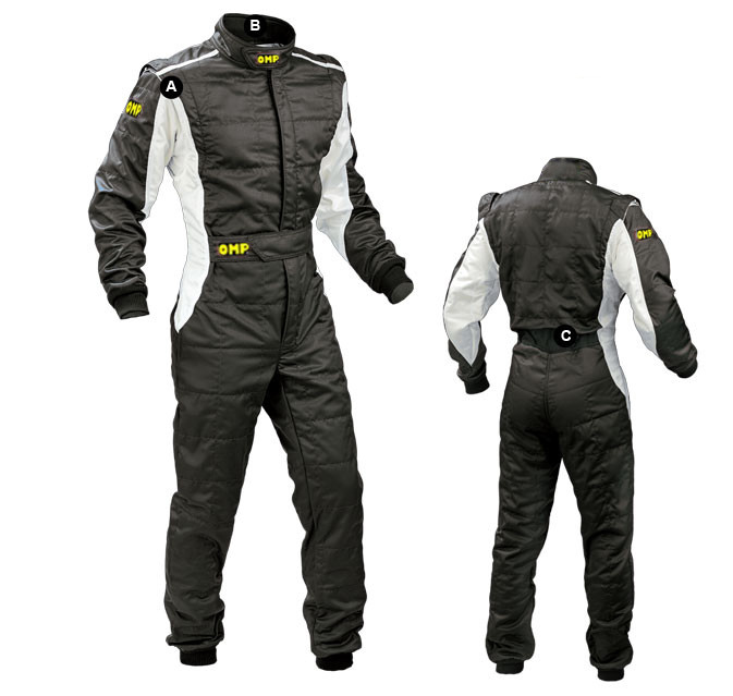 Car racing suit coverall practice service clothing not fireproof polyester 2 layer fit men and women