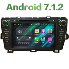"8"" 2GB RAM Android 7.1 Quad Core 4G DAB+ Wifi Multimedia Car DVD Player Stereo Radio GPS Screen for Toyota Prius RHD 2009-2015"
