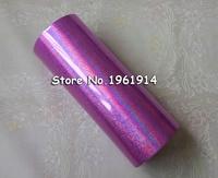 Hot stamping foil Holographic foil hot stamping on paper or plastic 16cm x 120m pink sand color Gilding Foils Roll