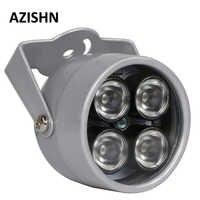 AZISHN CCTV LED S 4 tableau IR LED illuminateur lumière IR infrarouge étanche Vision nocturne CCTV lumière de remplissage pour caméra CCTV ip caméra