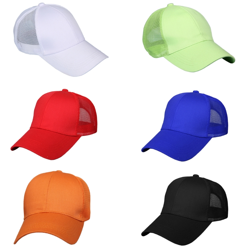 KLV New Summer Sport Mesh Baseball Caps Unisex Outdoor Breathable Hats Adjustable Size C ...