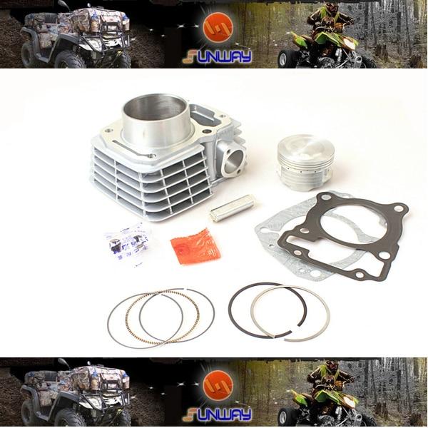 New 175CC 62MM Big Bore Kit for HONDA CBF125 Motorcycle Necessary modification Free Shipping