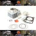 Novo cc 62mm big bore kit para honda cbf125 motocicleta modificação necessária, frete Grátis por epacket