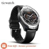 Оригинальный Ticwatch Pro спортивные Смарт часы Bluetooth WiFi NFC платежи/Google Assistant Android износ Смарт часы GPS IP68 водонепроницаемый