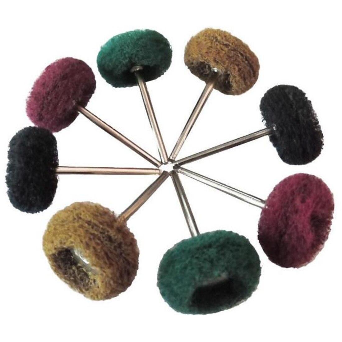 Micro-Electronic Dremel Accessories Polishing Wheel 20pcs Buffing Pad Brush Jewelry Metal For Rotary Tools Nylon Polishing Pads