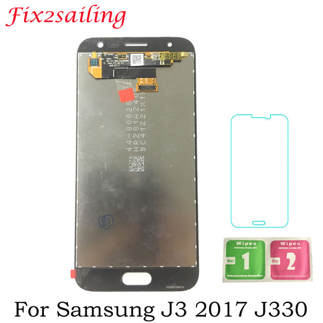 Amoled New LCDS For Samsung Galaxy J3 2017 J330 J3 Pro J330F J330G LCD Display + Touch Screen Digitizer Assembly Free Shipping