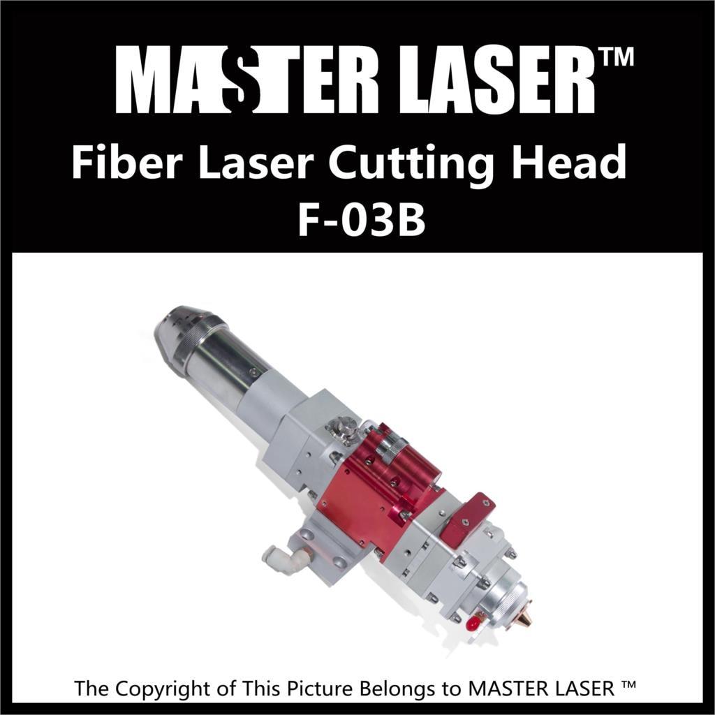 Qualified Products 1064nm Fiber Laser Cutting Machine Head F-03B Lens Diameter 25.4mm Focal Length 120mm Cutting Laser Heads