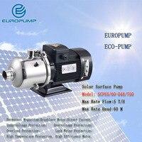 Еуропумп модель (SCPE5/60 D48/750) DHL FEDEX IE TNT Бесплатная доставка Качество 1HP солнечной поверхности насоса, dc поверхности солнечных водяных насосов