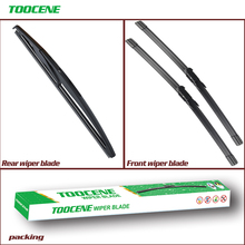 Front and Rear Wiper Blades  For Chevrolet Sonic Aveo 2012-2017 Windshield windscreen  Wiper For Chevrolet Aveo 26+15+11 брызговики задние frosch chevrolet aveo 2012