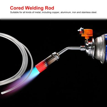цена на 2mm 1m Welding Rod Copper Aluminum Low Temperature Flux Cored Wire Metal Brazing Stick Soldering Tool Electrode No Need Solder